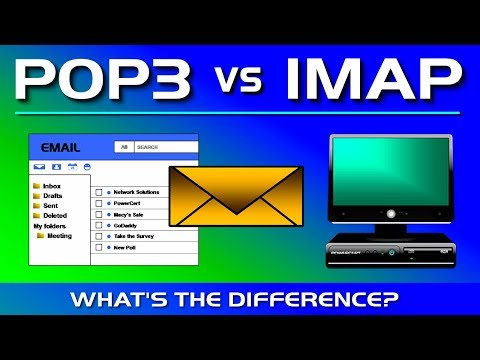 POP3 Vs IMAP - What's The Difference?