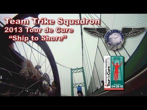 Tour De Cure / Ship To Shore 2013 - Team Trike Squadron