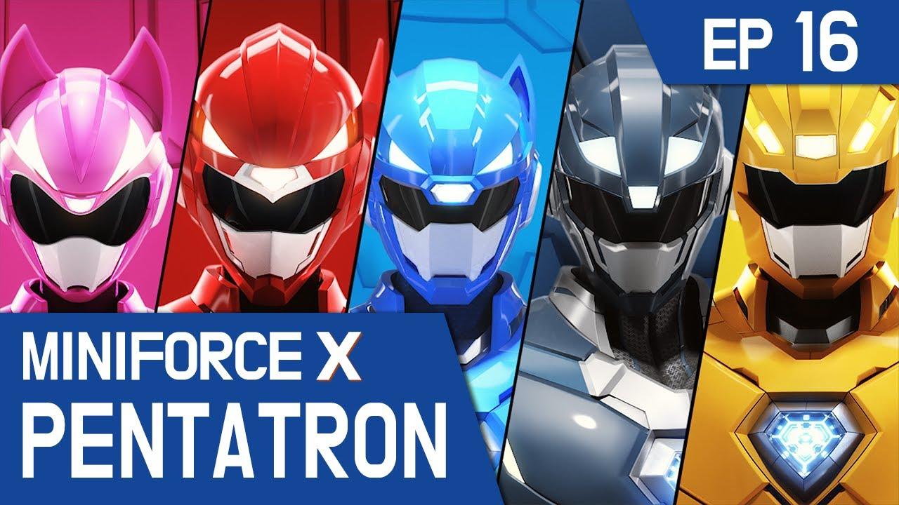 Download [MiniforceX PENTATRON] Ep.16: Force Pentatron! Combine!
