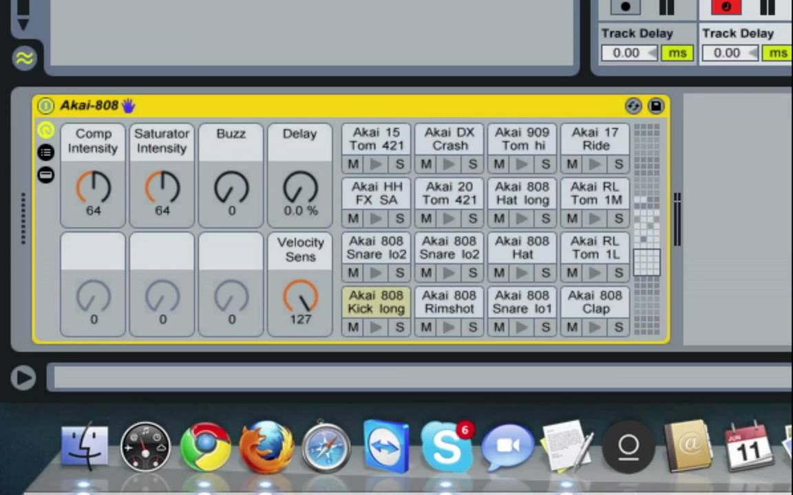 Ableton Tutorial: Organizing Drum Racks Samples for your QWERTY keyboard