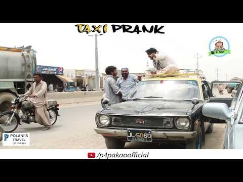 | Taxi Prank | By Nadir Ali & Asim Sanata In | P4 Pakao | 2018