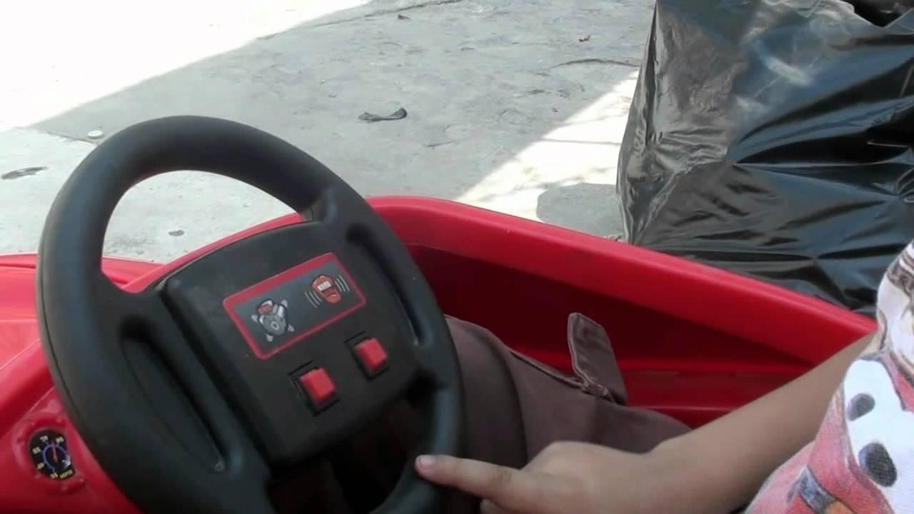 Consejos Para Ninos Carro Electrico Mcqueen Youtube