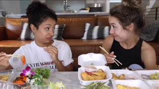 Liza Koshy being thirsty for Kristen Mcatee for 1 minute straight