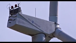 Wind Farm Tour Part 8 with Wind World, Repower, Dewind and Vensys Wind Turbine