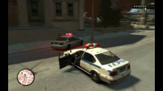 GTA IV GamePlay High Settings  -  XFX Radeon HD 4850