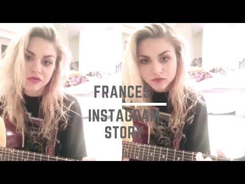 Frances Bean Cobain singing via Instagram Mp3