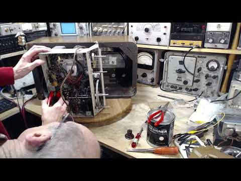 General Electric KL-70 AM/SW Radio Video #40 - Last Steps