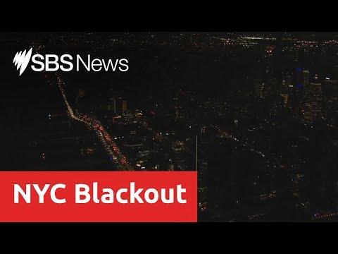 Manhattan plunged into darkness