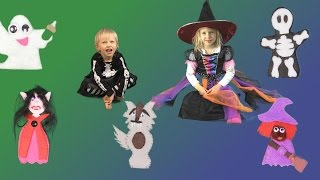 Finger Family Halloween Song | Fun Halloween Song for Kids | Children's song
