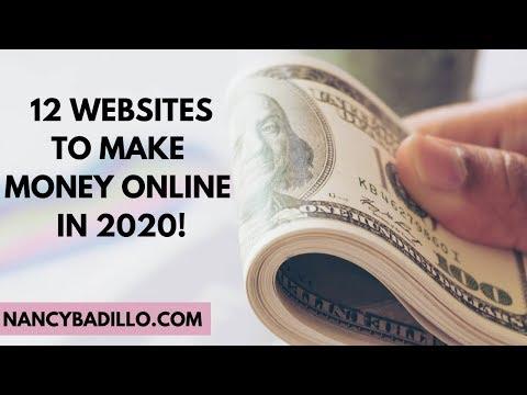 12 Websites To Make Money Online 2020 | How To Make Money Online 2020 | Nancy Badillo