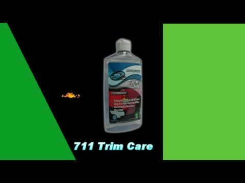 Trim Care for Faded moldings, trim and bumpers