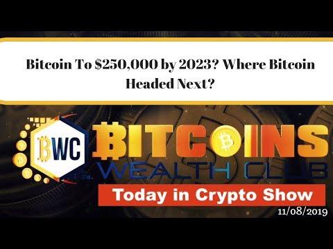Bitcoin To $250,000 By 2023? Where Bitcoin Headed Next?