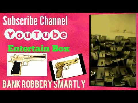 Bank Robbery Intelligently Hollywood Movie Style