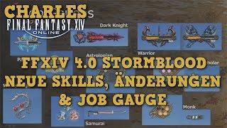 FFXIV Änderungen des Kampfsystems in Stormblood / Live Letter XXXVI Zusammenfassung