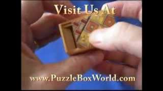 Mame 22 Step Japanese Puzzle Box