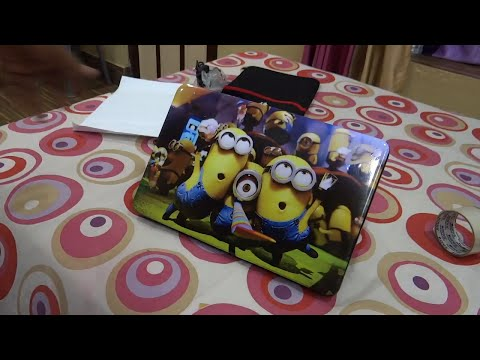 Laptop screen protector film , keyboard protector & minion skin | installing on Hp Core i3 BE-012TU from YouTube · Duration:  5 minutes 34 seconds