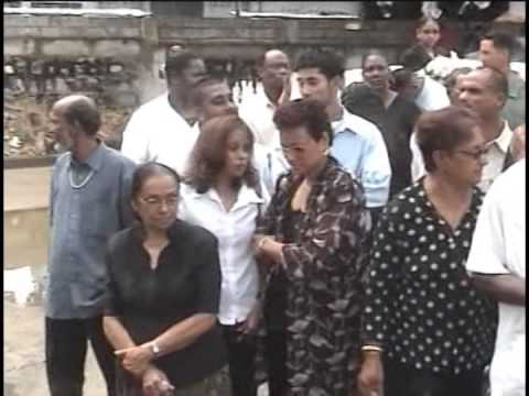 Mark Marchand II - Ceremonial Funeral - Trinidad - Pt. 4