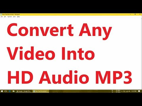 how-to-convert-any-video-into-hd-audio-(320-kbps-mp3)-in-windows-10/8/7/xp