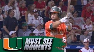 Miami Bat Flip: Edgar Michelangeli Game-Winning 3-Run Home Run vs. NC State