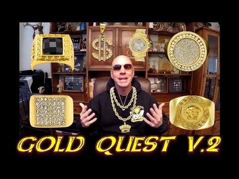 Metal Detecting For Gold Jewelry | City Park Basketball Court |  Quest for Gold V.2