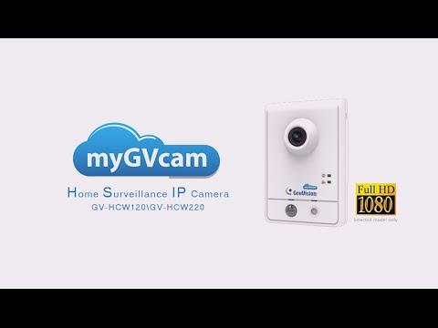 MyGVcloud-GV-HCW Camera Installation And Setup