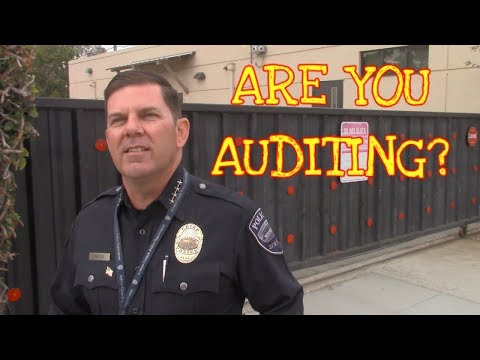 *CHIEF OF POLICE HAS QUESTIONS* POLICE DEPARTMENT IN (Arroyo Grande, CA) PART 1