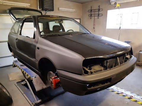 VW Golf 3 GTI Jubi Neuaufbau Story 2019 - 2020 Teil I
