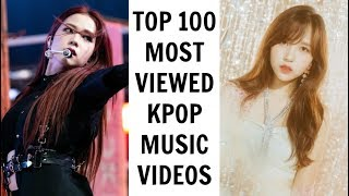 [TOP 100] MOST VIEWED KPOP MUSIC VIDEOS ON YOUTUBE   September 2019