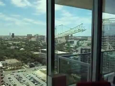 Spring Condominium Tower in Downtown Austin Texas with UT and Frost Tower Views 300 Bowie 78703