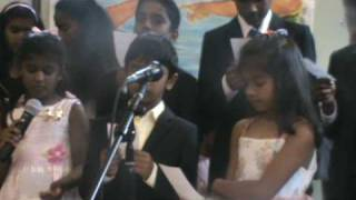 Malayalam Christian Song -Sagarangale Shantha Makiyum by Children, SDA Church, Manchester