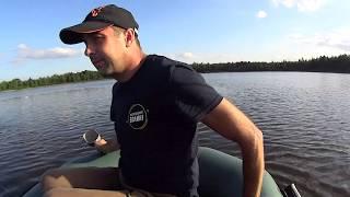 Осіння рибалка на озері Наболоцьке