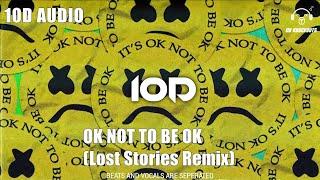 Marshmello & Demi Lovato - Ok Not To Be Ok (Lost Stories Remix) (10D Audio 🔉)   8D KNOCKOUTS