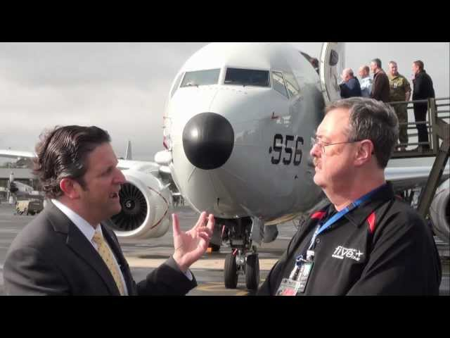 P8 Poseidon interview with James Detwiler from Boeing