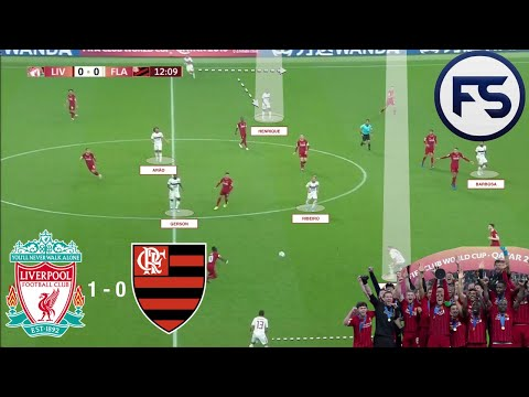 Klopp's Liverpool V Flamengo: (4-3-3 V  4-4-2) Liverpool Club World Cup Champions. Tactical Analysis