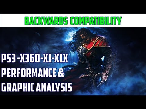 Castlevania: Lords of Shadow - Frame-rate and Graphic analysis PS3 | X360 | X1 |X1X