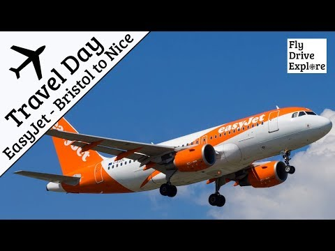 Travel Day - EasyJet A319 Flight Review,  Bristol To Nice On the French Riviera