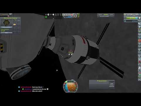 KSP RP-0 #558 Moon Ops ( Twitch Re-Cap)