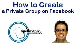 كيفية إنشاء مجموعة خاصة على Facebook