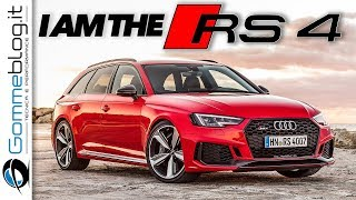 Audi RS4 Avant: The Best Sports Station Wagon 2018? [ONLY V6 Exhaust SOUND]