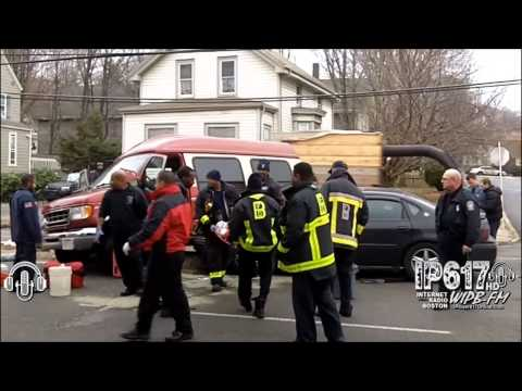 Accident On Truman Parkway In Hyde Park, MA 12/16/2014