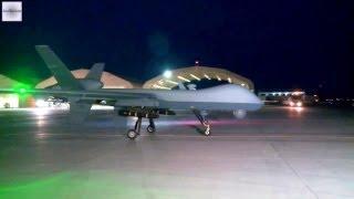 MQ-9 Reaper Night Launch