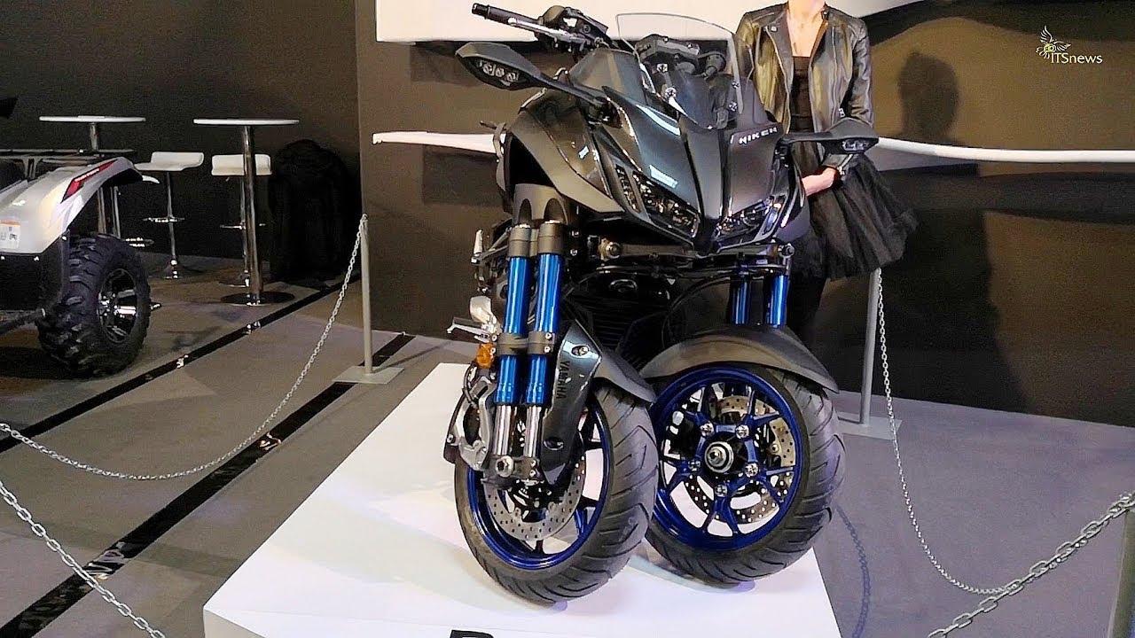 YAMAHA NIKEN premiera WARSAW MOTORCYCLE SHOW 2018