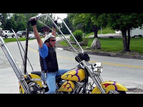 😲 Мотоциклы с Высокими Рулями (ape Hangers) 🙉!