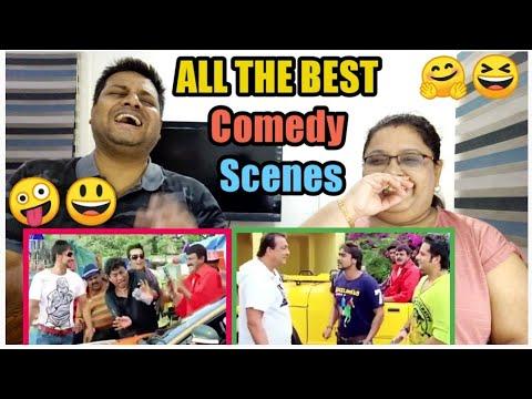 All The Best Comedy Scene Reaction | Ajay Devgn, Sanjay Dutt, Johnny Lever | All The Best | REACTION
