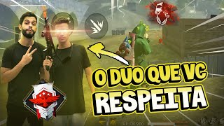 MELHOR DUO NO FREE FIRE | PLAYHARD & MOB