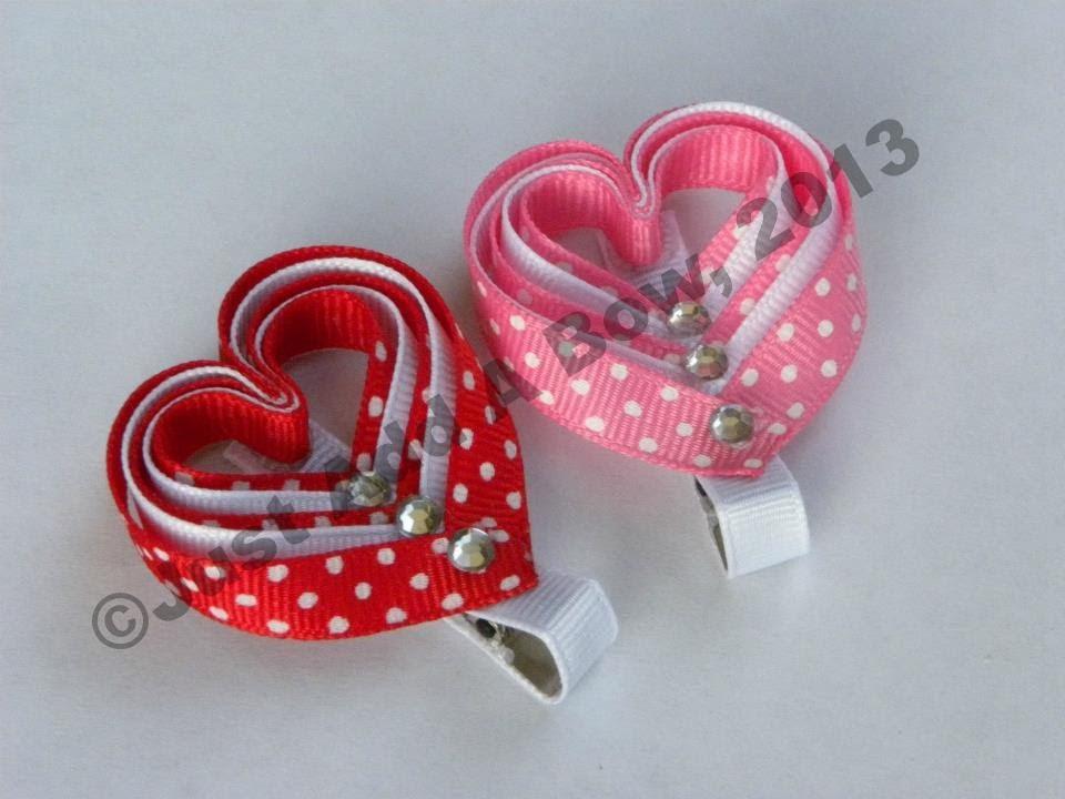 make layered valentine's