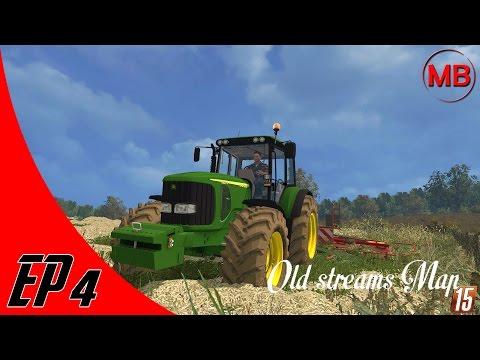 Farming Simulator 15 - Old Streams Map #4 : Panne d'essence du Fiat ! [FR]