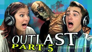 OUTLAST: PART 5 (Teens React: Gaming)