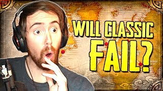 Asmongold Reacts to Will WoW Classic Be Successful? (MadSeasonShow)