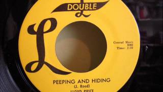 LLOYD PRICE - PEEPING AND HIDING